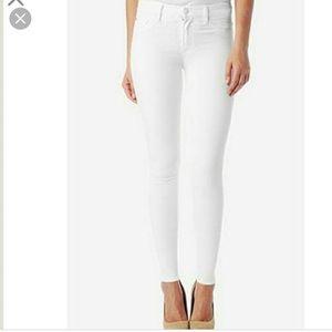 Hudson Colette White Jeans